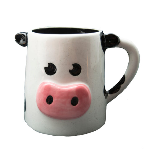 Turkey Hill Pottery Cow Mug