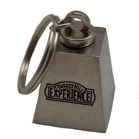 Turkey Hill Experience Cow Bell Key Chain