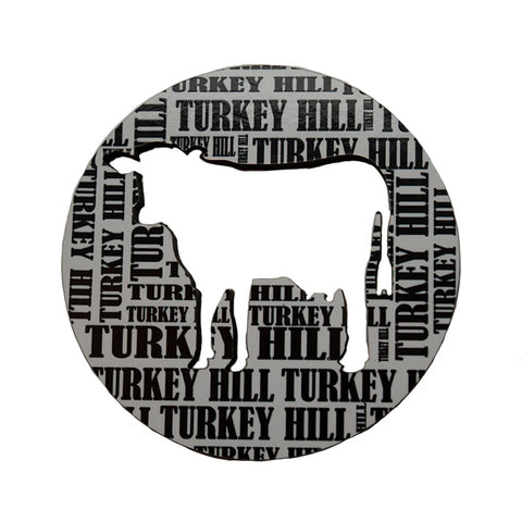 Turkey Hill Cow Cut Out Magnet
