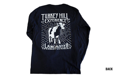 Long Sleeve Cow Scoop Shirt