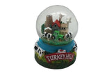 Turkey Hill Dairy Farm Snow Globe
