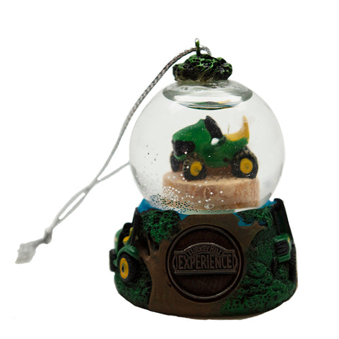 Turkey Hill Experience Tractor Globe Ornament