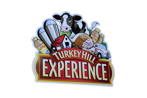 Turkey Hill Die Cut Post Card