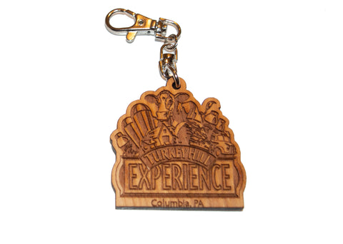 Turkey Hill Experience Wooden Keychain