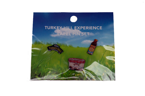 Turkey HIll Lapel Pin Set