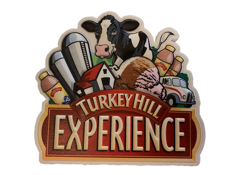 Turkey Hill Rubber Logo Magnet