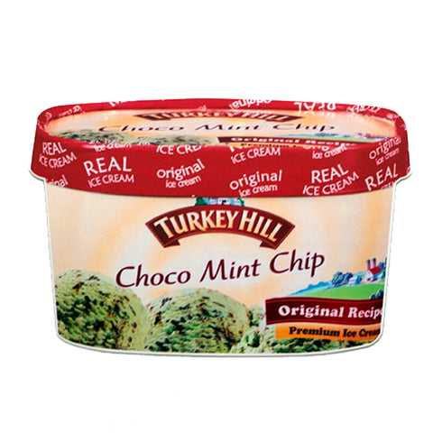 Turkey Hill Choco Mint Chip Post Card