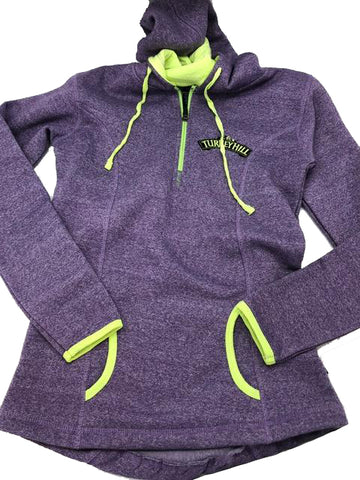 Purple and Green Turkey Hill Sweatshirt
