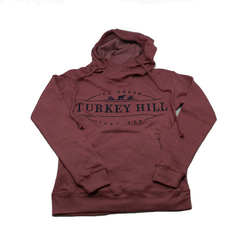 Turkey Hill Hooded Sweatshirt - Ice Cream/Iced Tea