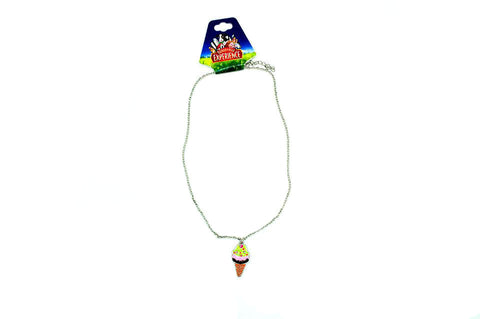 Turkey Hill Ice Cream Silver Necklace