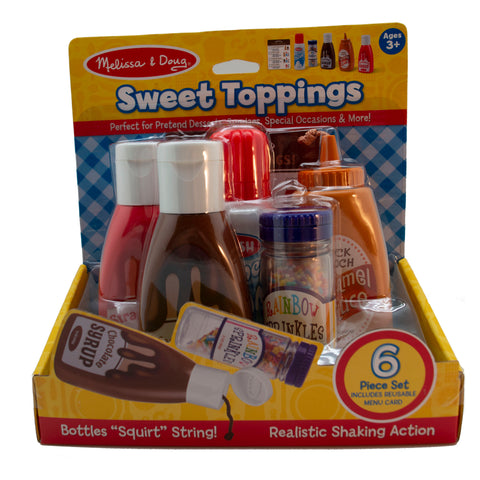 Melissa Doug Turkey Hill Sweet Toppings Play set