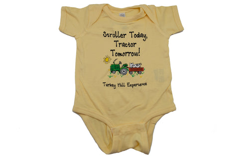 Turkey Hill Tractor Tomorrow Onesie