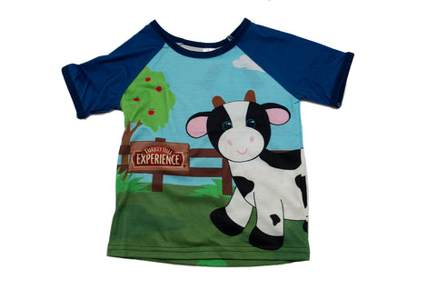 Turkey Hill Experience Outdoor Cow Shirt