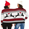 Two Person Ugly Pullover Christmas Sweater