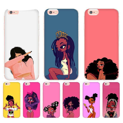 cheap for discount 391d6 49c3f Black Girl Magic iPhone Shell Case