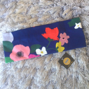 Blue Romantic Floral Band