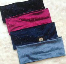 Velour Sparkle Band (Standard/Wide)