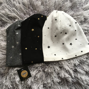 Stardust Baby & Child Beanie (All Colors) - Optional Pom