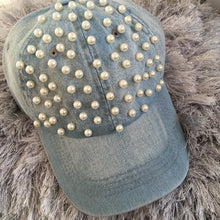 Full Pearl Denim Cap (3 Shades)