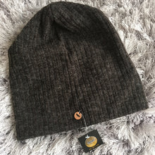 Wool Ribbed Beanies