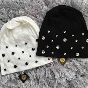 Jeweled Rhinestone Beanie