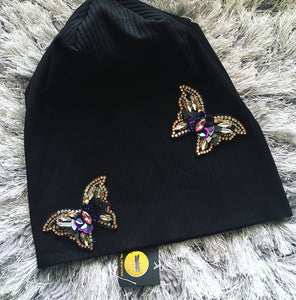 Monarch Butterfly Beanie