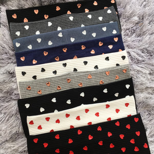 Heart Stud Bands (Standard/Wide) *NEW COLORS*