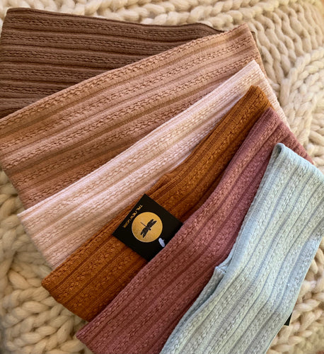 Soft Cable Knit Bands (Standard/Wide)