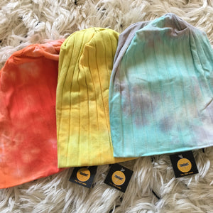 Capsule Cotton Ribbed Beanie - TIE DYE **NEW COLORS ADDED