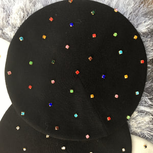 Luxe Crystal Beret