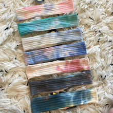 Skinny Tropical Tie Dye Bands