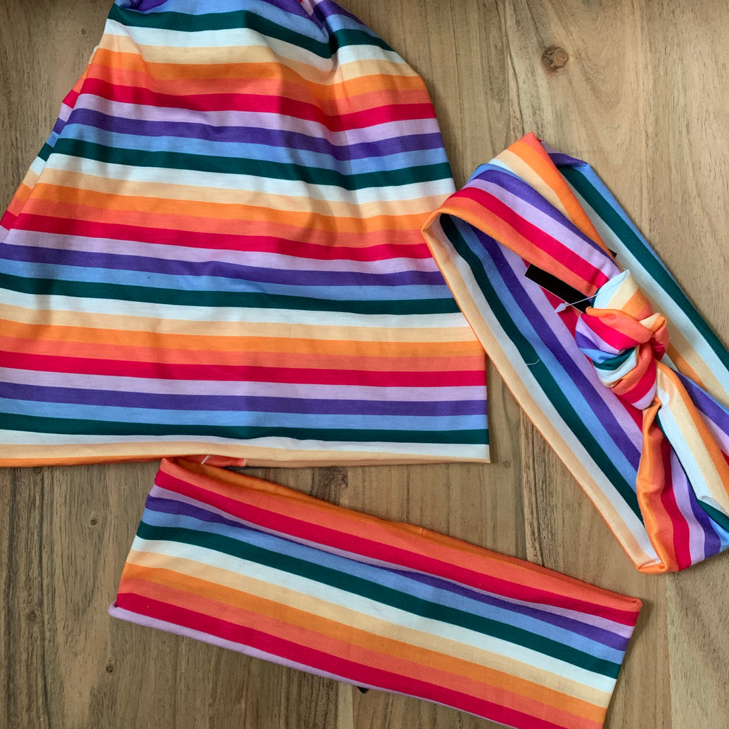 Rainbow Stripe Collection