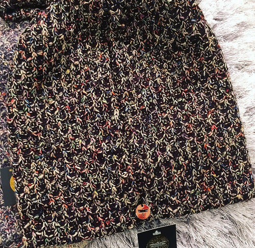 Multi Chunk Sweater Beanie