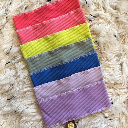 Ribbed Stitch Bands - NEW RAINBOW!