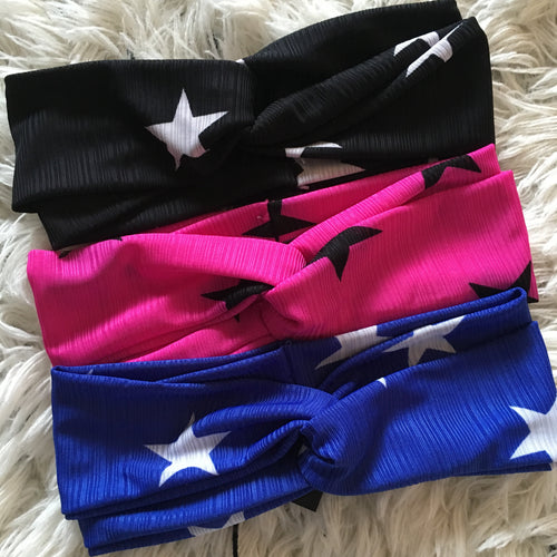 Silk Star Turban Bands