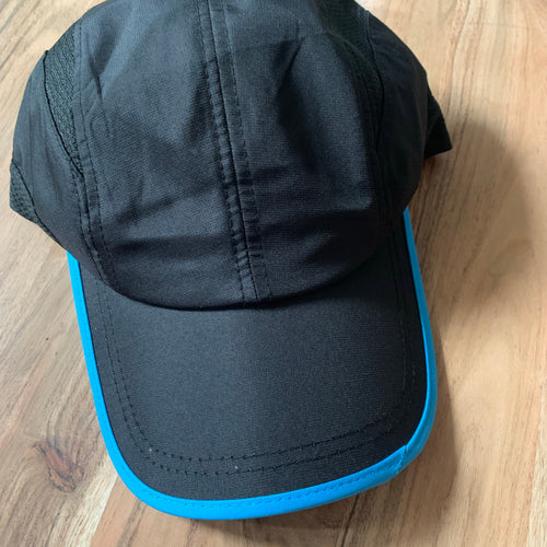 Black x blue dri fit sample
