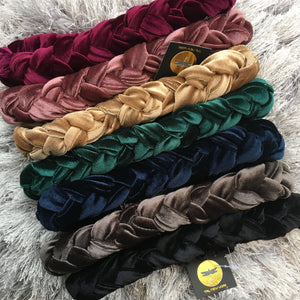 Iconic Velvet Braid (Stretch Back)