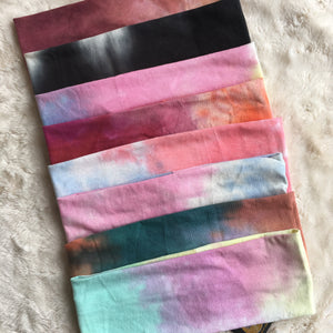 Tie Dye Splash Bands (STANDARD/WIDE)