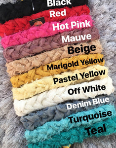Silk Braid Headbands *NEW*