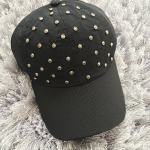 Gunmetal Gem Dry Fit Cap