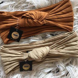 Capsule Cotton Ribbed Knot Band *NEW COLORS added!
