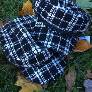 Tweed Newsboy Cap - By FRUMEE