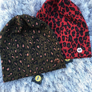 Limited Edition Leopard Beanie
