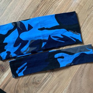 Blue Camo bands