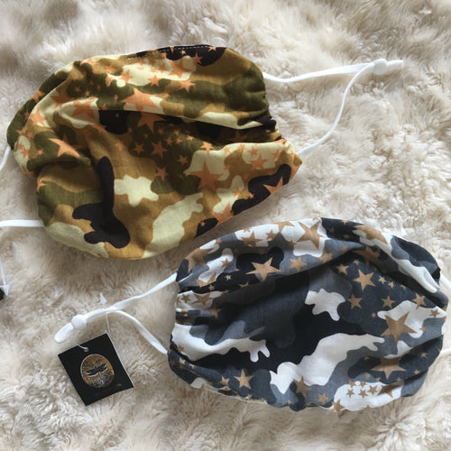 Camo Star Masks