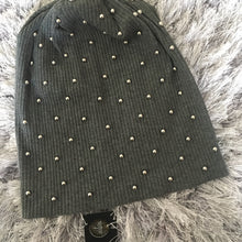 Full Pearl Ribbed Beanie
