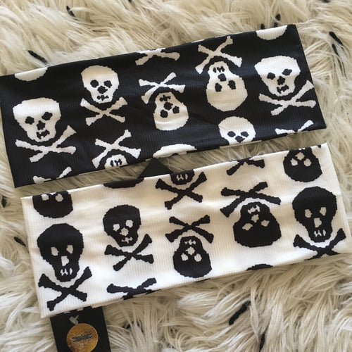 Skull LX Silk Band (Standard/Wide)