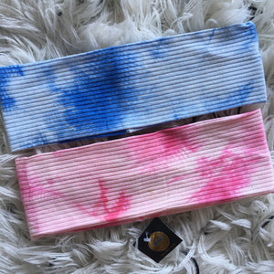 Ribbed Tie Dye Band (Standard/Wide)