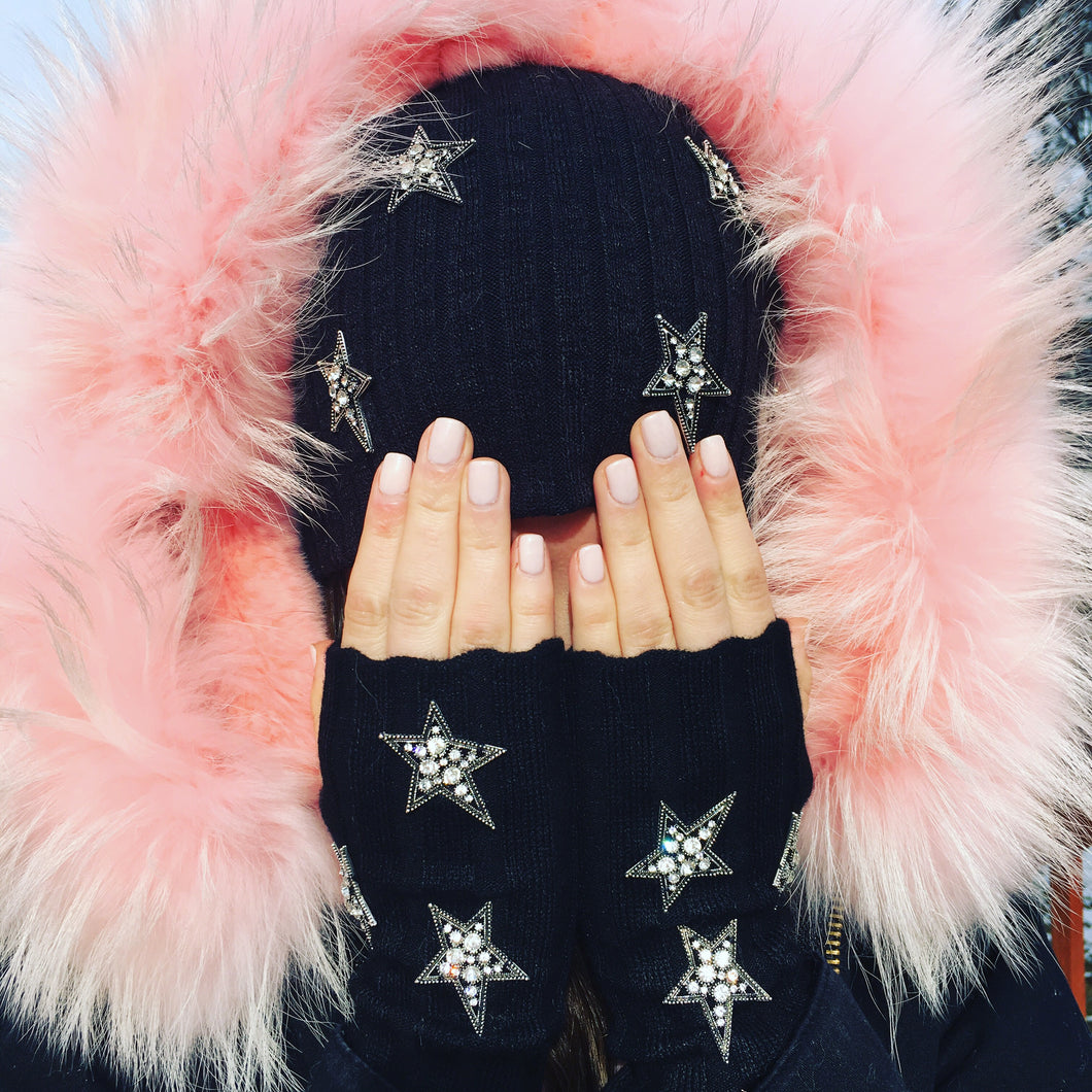 Shine Bright Fingerless Gloves