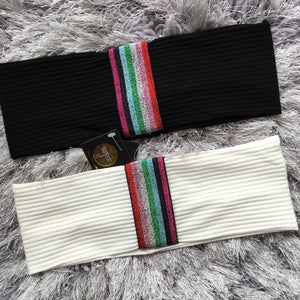 Candy Stripe Ribbon Band (Standard/Wide)